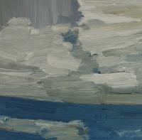 Öl auf Karton, 30 x 30 cm