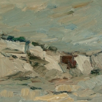 Morsum Kliff, 30 x 30 cm