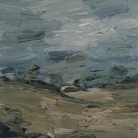 Felder und Wiesen, 30 x 30 cm