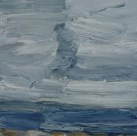 Winter am Meer II, 2015, 30x30 cm