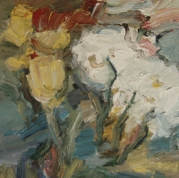 Frühling II, 2015, 30 x 30 cm