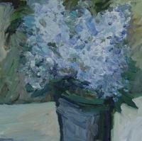 Frühling Vergissmeinnicht, 30x30 cm