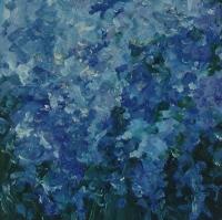 Frühling Männertreu, 30 x 30 cm