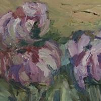 Frühling Pfingstrosen, 30 x 30 cm