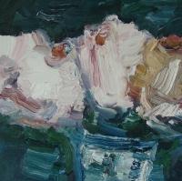 Sommer 2015, Rosen II, 30 x 30 cm