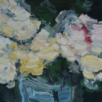 Sommer 2015, Rosen VI, 30 x 30 cm