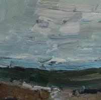 Die Ostsee bei Maasholm, 30 x 30 cm