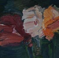 Amaryllis Variation, 30 x 30 cm