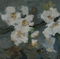 Blütenzweig, 30 x 30 cm