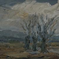 Am Pfungstädter Moor II, 30 x 30 cm