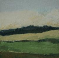 Skizze 2,o.T., Pastell, 20 x 20 cm