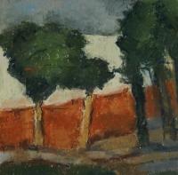 Skizze 3,o.T., Pastell, 20 x 20 cm