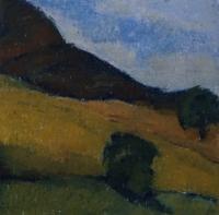 Skizze 8,o.T., Pastell, 20 x 20 cm