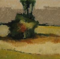 Skizze 20,o.T., Pastell, 20 x 20 cm