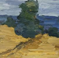 Zicker Berge, auf dem Weg, 30x30 cm